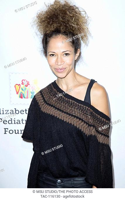 """Sherri Saum attends Elizabeth Glaser Pediatric Aids Foundation """"A Time For Heroes"""" family festival at Smashbox Studios on October 23, 2016 in Culver City"""