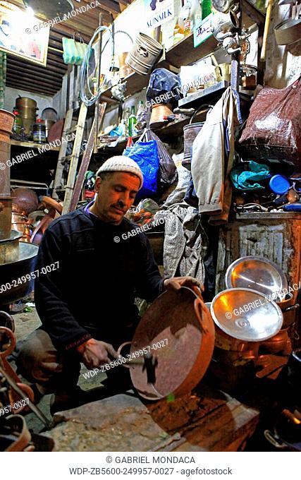 Goldsmith medina of Fez. Morocco