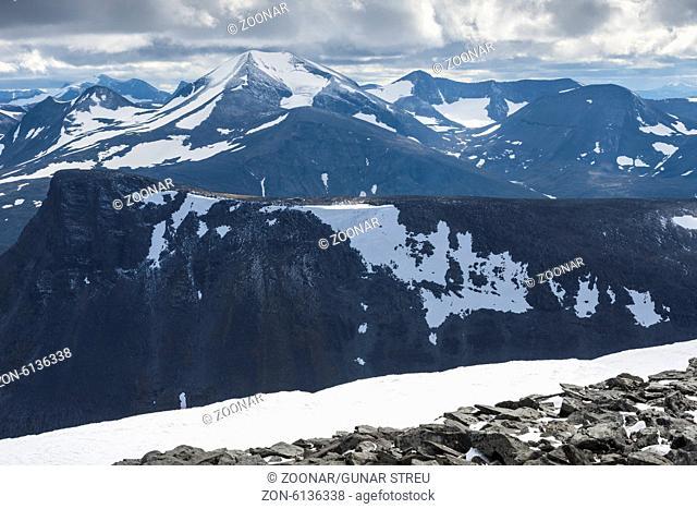Abisko alps with Katotjakka, Lapland, Sweden