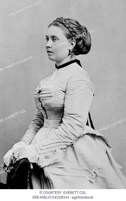 Princess Victoria 1840-1901, first born child of Queen Victoria and Prince Albert of Britain. She became German Empress and Queen of Prussia by marriage to...