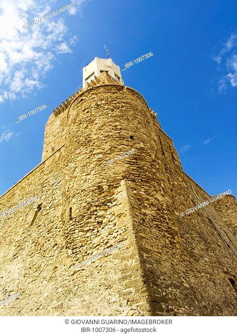 Castello Svevo, Svevian Castle and Tower Federico II in Termoli, Campobasso, Molise, Italy, Europe