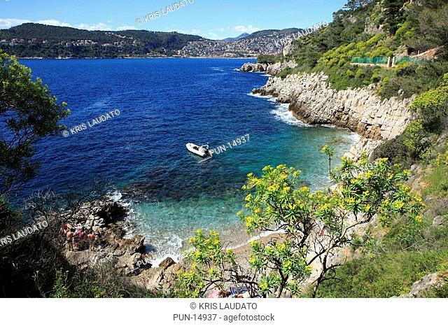 Beach of Cap de Nice, France
