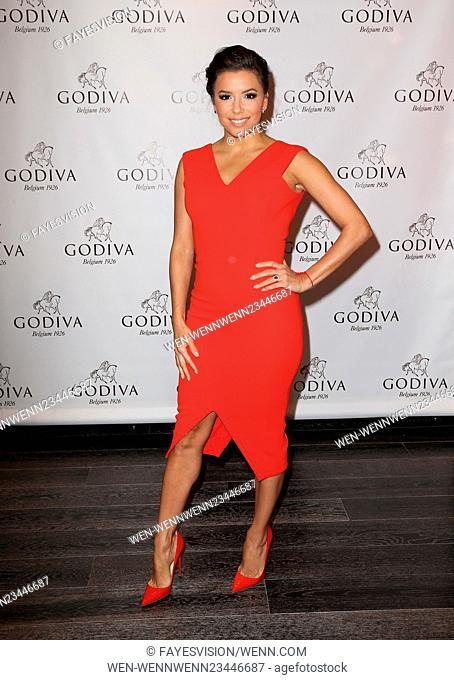 Eva Longoria Celebrates Valentine's Day With Godiva Featuring: Eva Longoria Where: Glendale, California, United States When: 04 Feb 2016 Credit:...
