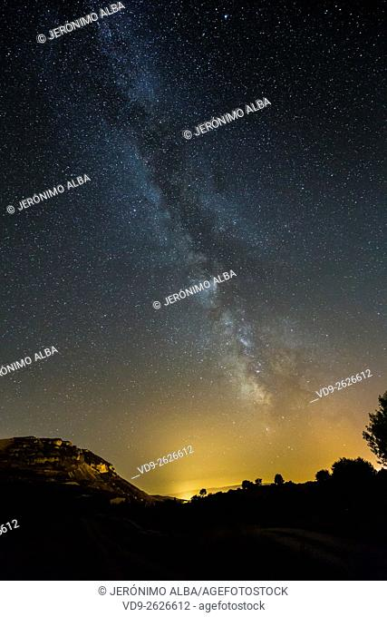 The Milky Way, Burgos Castilla Leon. Spain