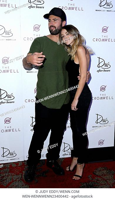 Brody Jenner and Devin Lucien Kick Off DJ Residency at Drai's Nightclub Las Vegas Inside The Cromwell Featuring: Brody Jenner, Kaitlynn Carter Where: Las Vegas