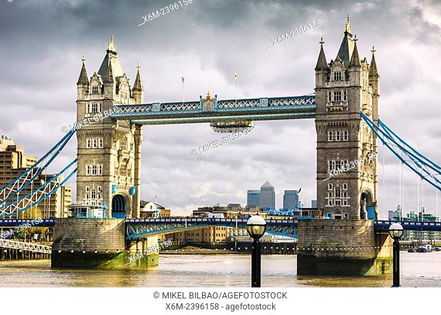 Tower Bridge and River Thames. London, United Kingdom, Europe