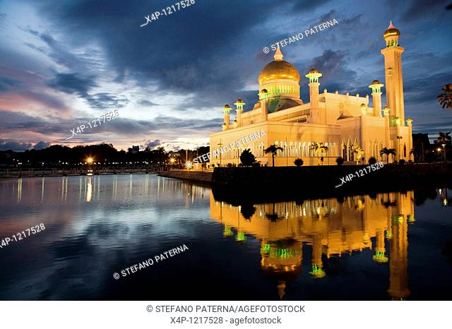 Sultan Omar Ali Saifuddin Mosque, Brunei, Bandar Seri Begawan