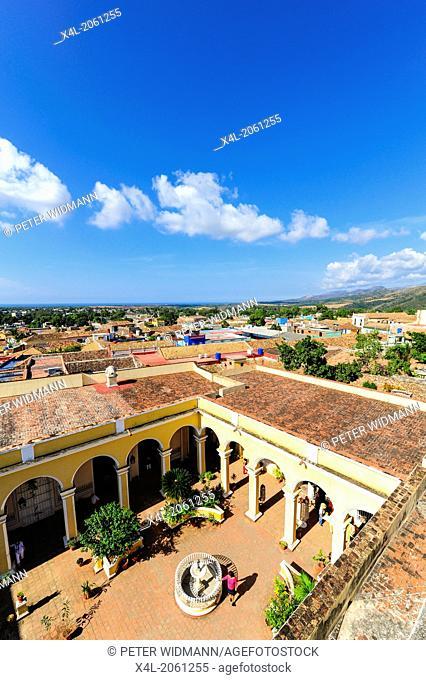 Cuba, Trinidad, Palacio Cantero, Museo de Historia Municipal, Sancti Spiritus