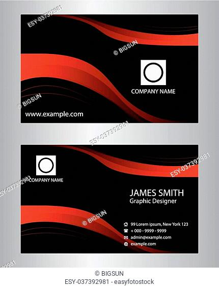 Business card wave