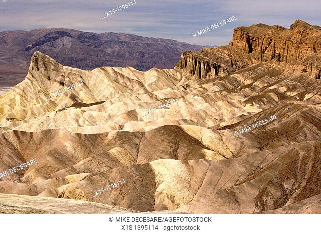 Zabriski Point in Death Valley