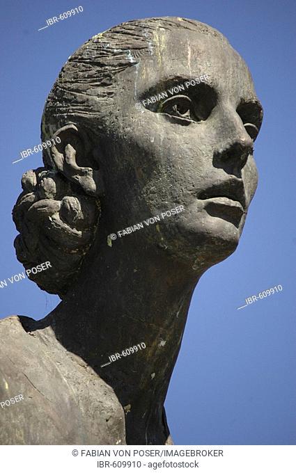 Monument for Eva Perón at Avenida Libertador, Buenos Aires, Argentina