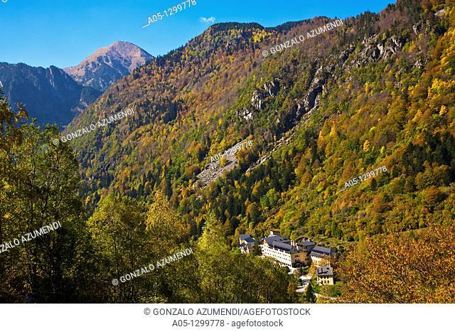 Caldes de Boi Spa Boi - Taull Valley  Alta Ribagorça Region Peripheric area. Aigüestortes i Estany de Sant Maurici National Park