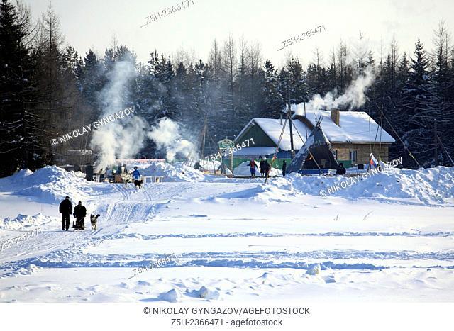 Farewell to winter in the national settlement Kazim Khanty-Mansiysk Autonomous Okrug - Yugra