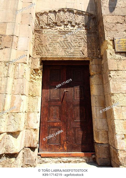 Fatimid Mosque at Islamic quarter, Cairo, Egypt