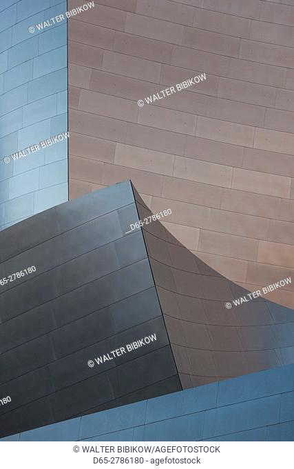 USA, California, Los Angeles, Walt Disney Concert Hall, detail