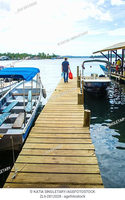 Daily life, Bocas del Toro, Panama