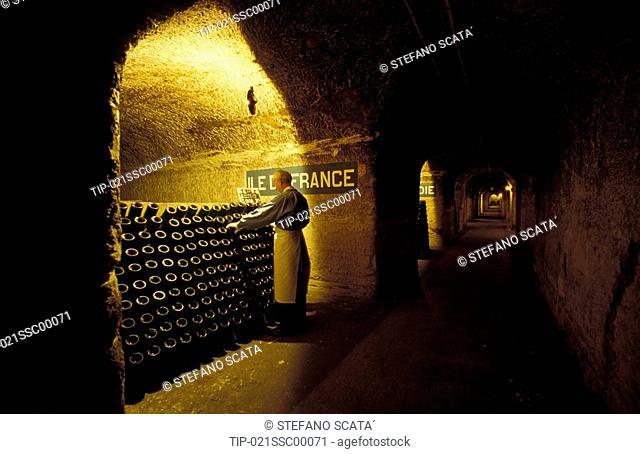 France - Champagne Pommery cellar
