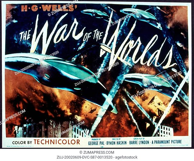 1953, Film Title: WAR OF THE WORLDS, Director: BYRON HASKIN, Studio: PARAMOUNT. (Credit Image: SNAP/ZUMAPRESS.com)