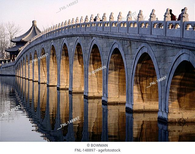 Sommer Palace and 17 arch bridge, Beijing, China