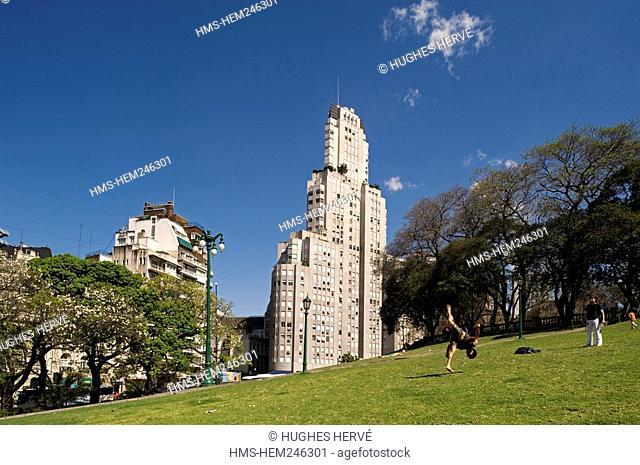 Argentina, Buenos Aires, Plaza San Martin San Martín Square