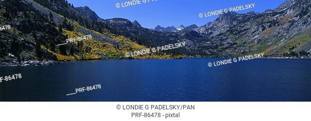 Lake Sabrina Eastern Sierra Mountains CA