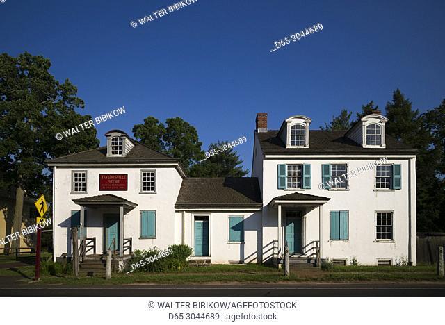 USA, Pennsylvania, Bucks County, Washington Crossing, Washington Crossing Historic Park, Taylorsville Houses