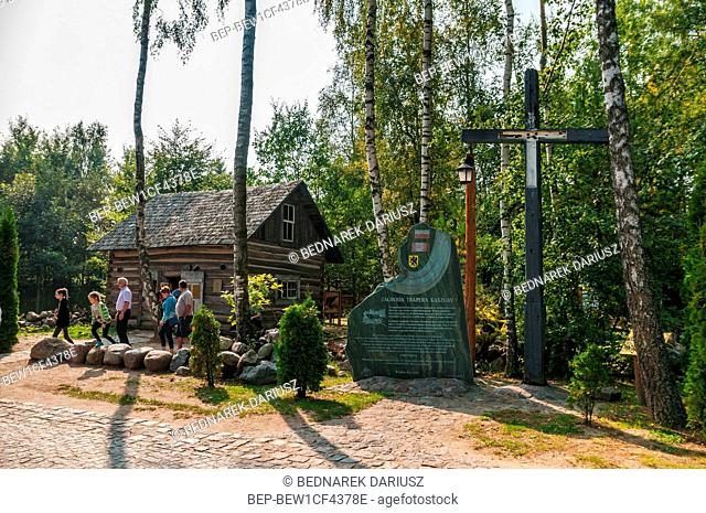 Trapper's farm, Centre for education and regional promotion. Szymbark, village in Pomeranian Voivodeship, Poland