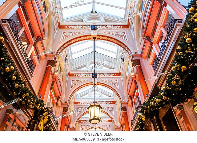 England, London, Old Bond Street, The Royal Arcade