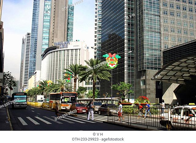 At Ayala Avenue, Makati, Philippines