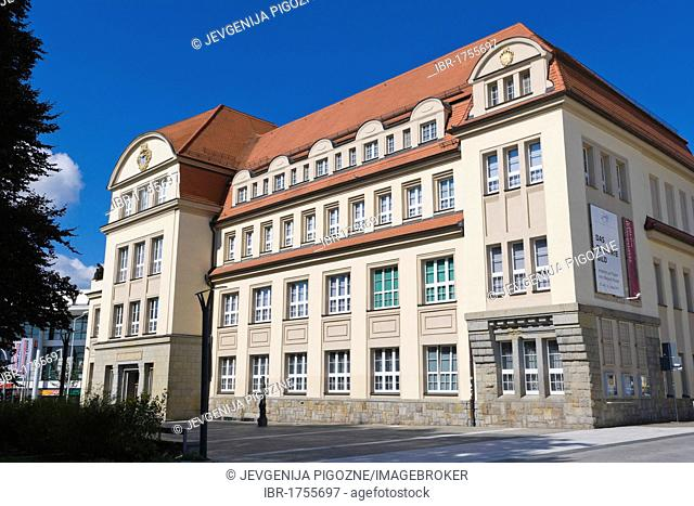 City museum, Stadtmuseum, Kornmarktplatz, Corn Market Place, Bautzen, Budysin, Budysyn, Budziszyn, Dresden region, Eastern Saxony, Upper Lusatia, Germany