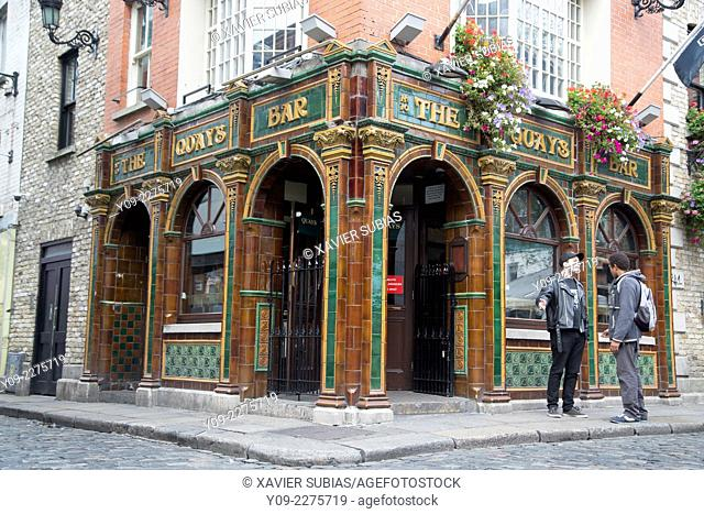 Quays Bar, Temple Bar, Dublin, Leinster, Ireland