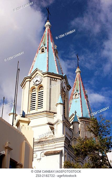 Church of San Alfonso, Cuenca, Azuay Province, Ecuador, South America