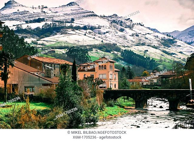 Lierganes village  Cantabria, Spain