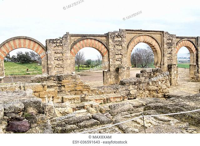 Ancient city ruins of Medina Azahara, Cordoba, Spain