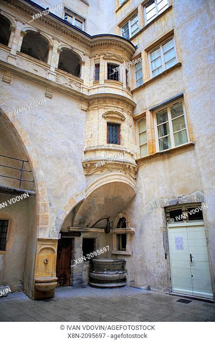 Hotel de Bullioud (1536) by Philibert Delorme, Lyon, France