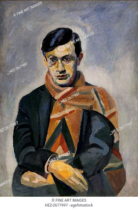 Portrait of Tristan Tzara (1896-1963), 1923