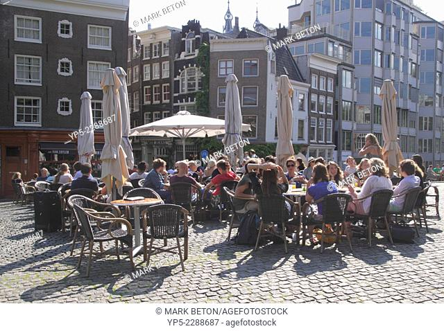 Cafe Van Zuylen by Singel Canal Amsterdam Holland