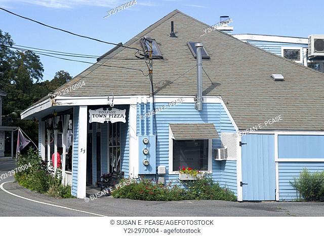 Wellfleet Town Pizza, Wellfleet, Cape Cod, Massachusetts, United States