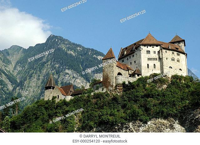 Liechtenstein - Gutenberg Castle
