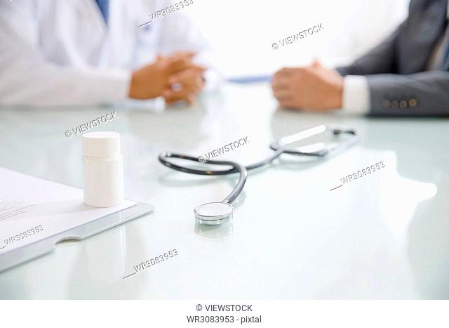 The doctor stethoscope