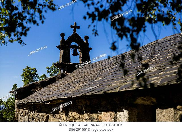 Church, Piornedo. Los Ancares, Lugo province, Galicia, Spain