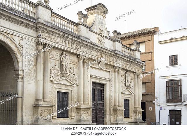 Cityscape in Jerez de la Frontera, Cadiz province, Andalusia, Spain