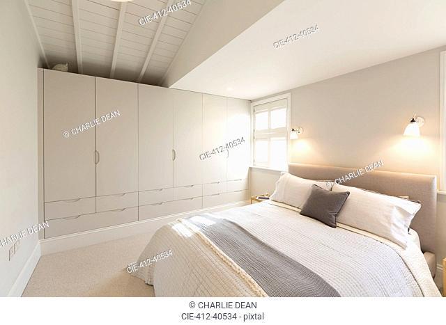 Luxury home showcase bedroom