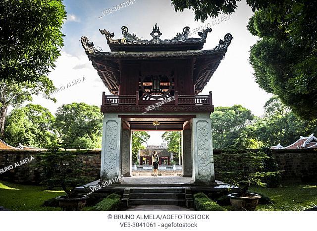 Temple of Literature Hanoi, Vietnam