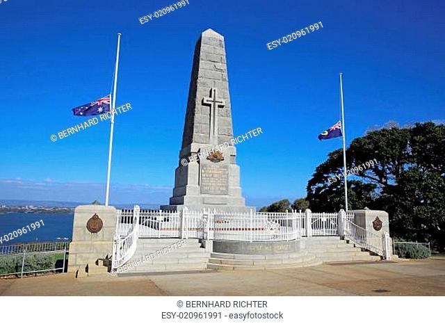 Kriegerdenkmal in Perth. Westaustralien
