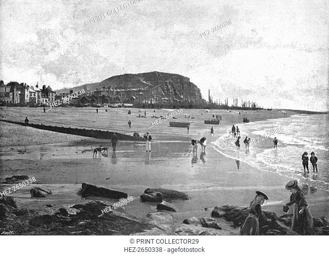 Hastings, Old Town and Beach, c1900. Artist: Carl Norman