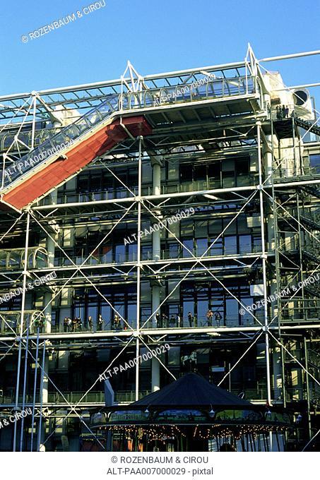 France, Paris, Pompidou Center
