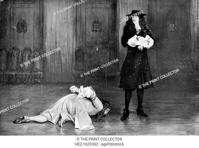 The Duke of Monmouth pleads for his life, 1685, (c1920). James Crofts, later Scott, 1st Duke of Monmouth, 1st Duke of Buccleuch (1649-1685)