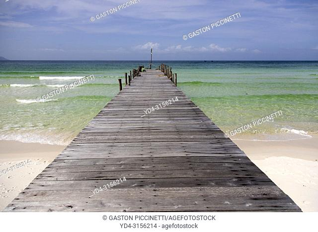 Sok San Beach, Koh Rong Island, Sihanoukville province, Kingdon of Cambodia