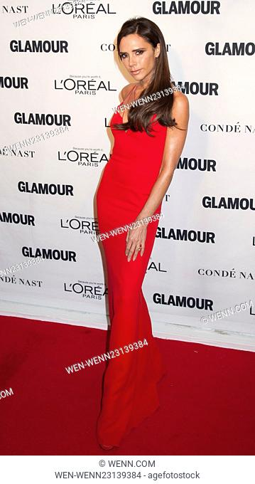 2015 Glamour Women Of The Year Awards Featuring: Victoria Beckham Where: New York, New York, United States When: 09 Nov 2015 Credit: WENN.com